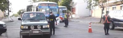 Control policial y militar sobre Eusebio Ayala y en 4 Mojones