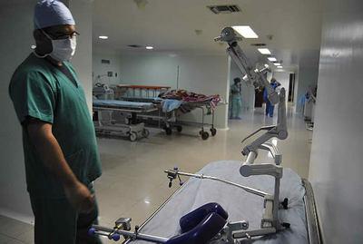 Sistema de Salud solo cuenta con 20 camas de terapia con respiradores para COVID-19