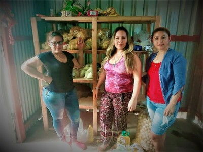 Ciudadanos del distrito de Mariscal Estigarribia colectan viveres para familias