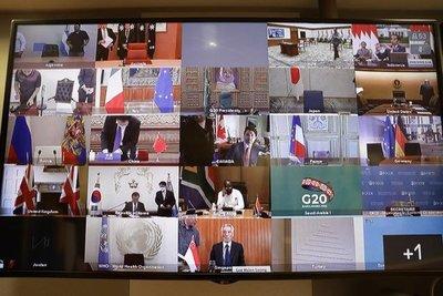 La UE pide al G20 «acción sin precedentes» en materia económica y sanitaria