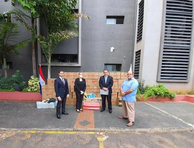 DINAC entrega importante lote de insumos para unidades de turno del Ministerio Público
