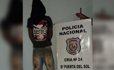 Detenido por supuesto hurto, posesión de drogas y arma blanca