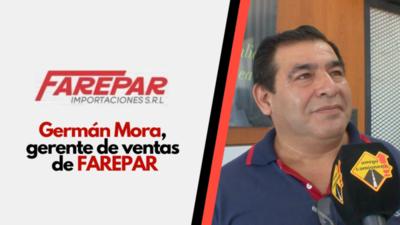 Farepar importa repuestos y accesorios de importantes marcas europeas