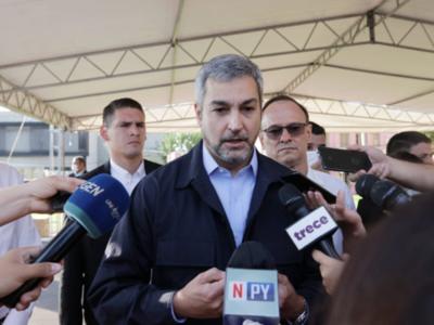 Asistencia a familias vulnerables finalmente será de G. 500 mil, confirma Mario Abdo