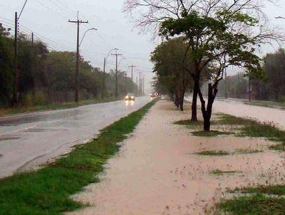 Alerta meteorológica por tormentas para el Chaco