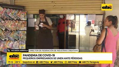 Covid-19: Pequeños empresarios se unen ante pérdidas