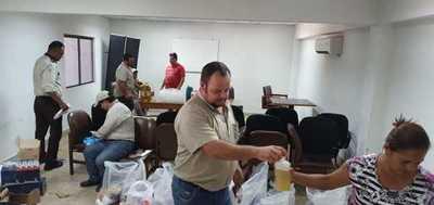 Concepción: Funcionarios de la ANDE inician campaña solidaria