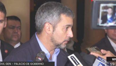"""Se aplicarán """"mínimas excepciones"""", asegura Abdo Benítez"""