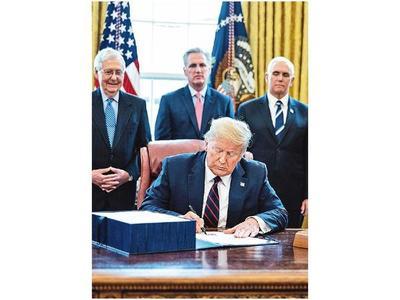 EEUU lanza histórico rescate económico por el Covid-19