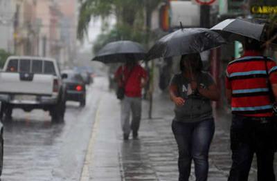 Persistirán las lluvias para este sábado