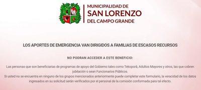 Transferencia electrónica: San Lorenzo pone en funcionamiento web para inscripción