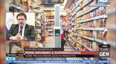 HOY / SET: Controlan precios en supermercados y anuncian ayuda monetaria a pequeños contribuyentes