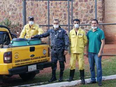 Personas privadas de libertad de la penitenciaría de PJC donarán 1000 litros de lavandina a bomberos
