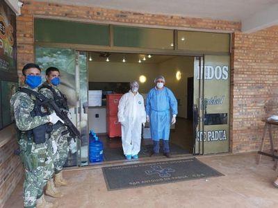 Paraguayos que cruzaron desde Foz de Iguazú ya están en albergue