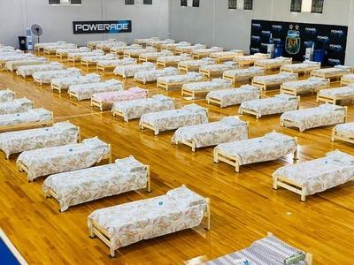 AFA equipa sus instalaciones para acoger a afectados por coronavirus