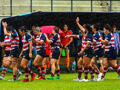 La selección femenina de rugby seven impulsa una campaña solidaria