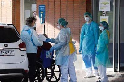 España registra su pico más alto de muertes por Covid-19 en 24 horas
