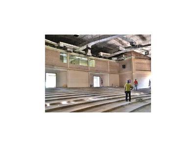 En Caacupé avanzan obras  para restaurar  el teatro municipal