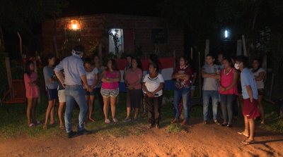 Pobladores de asentamiento en Ypané se movilizaron por falta de alimentos