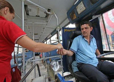 Asunción: transporte garantizado para quienes brinden servicios indispensables