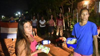 """Vecinos de la compañía de Nueva esperanza IV piden ayuda por parte de la intendencia porque """"ya no tienen que comer"""""""