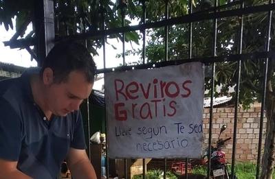 HOY / Solidaridad ante Covid-19: Chipero repartió reviro y en San Lorenzo hicieron olla popular