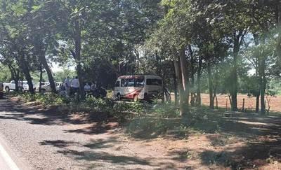 Pasajeros detenidos amanecieron al costado de la ruta, donde declararon