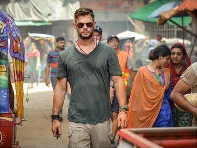 Chris Hemsworth, un intrépido mercenario que llega a Netflix