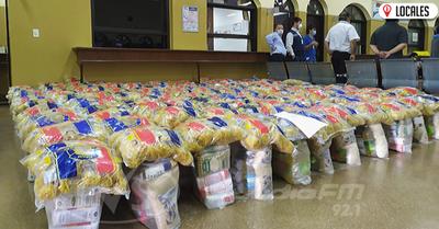 Aduana entregará 700 kits de alimentos a familias vulnerables de Encarnación