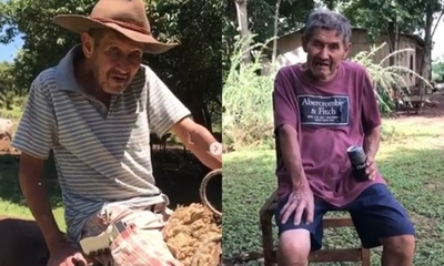 """El abuelito """"plagueón"""" de la cuarentena"""