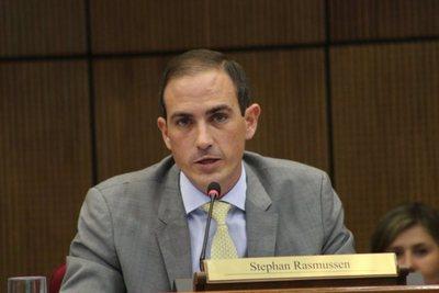 Para senador Rasmussen, decisión del Ejecutivo es acertada