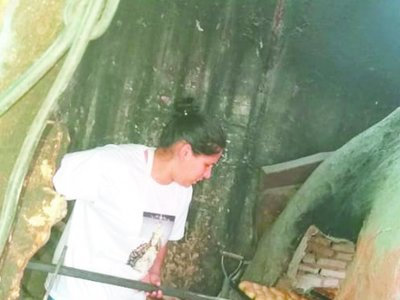 Shishi  ya horneó 2.000 pan kesu para los mitã'i