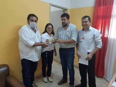 Intendente de Horqueta dona su salario para compra de insumos
