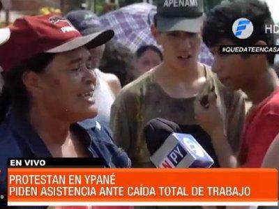 Vecinos reclaman asistencia estatal en Ypané