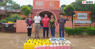 La Asociación Japonesa sigue entregando donaciones en los distintos centros asistenciales de Encarnación
