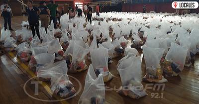 Municipalidad de Encarnación seguirá entregando kits de alimentos a los más vulnerables