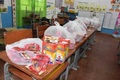 MEC entregará kits alimentarios en reemplazo del almuerzo escolar