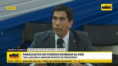 Paraguayos intentan ingresar al país