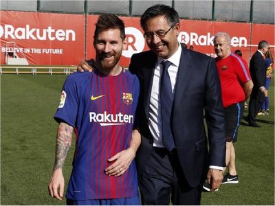"""Bartomeu: """"Messi me dijo que esta rebaja había que hacerla"""""""
