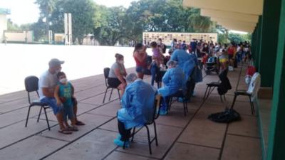 HOY / Banda militar ameniza la cuarentena en la Academil de Capiatá