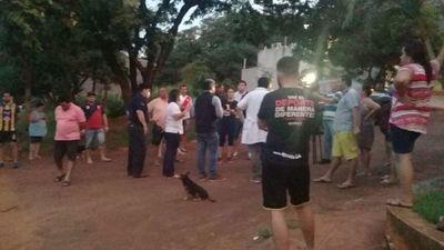 Manifestación contra contra confinados en hotel de Cucho
