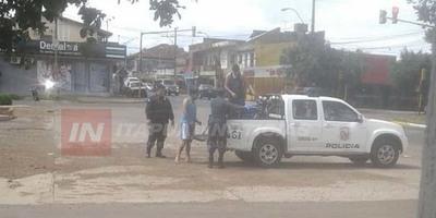 HACÍA DELIVERY DE SOPA PARAGUAYA Y QUEDÓ DETENIDO POR LA POLICÍA
