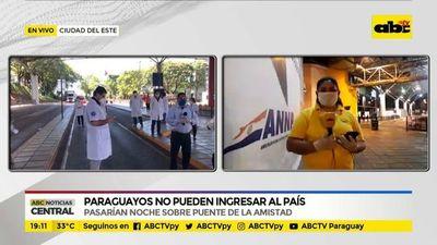 Covid-19: Paraguayos no pueden ingresar al país