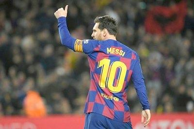 Messi confirmó rebaja al plantel del Barcelona