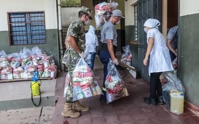 Petta asegura que kits de alimentos entregarán cada 10 días