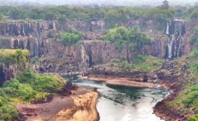 Volumen de agua de las Cataratas es la peor en 15 años