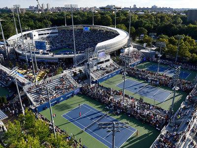 Instalaciones del US Open servirán como hospital