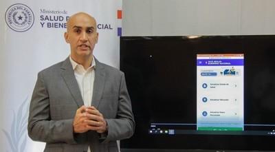Salud y MITIC habilitan WEB APP para registro diario de pacientes en cuarentena