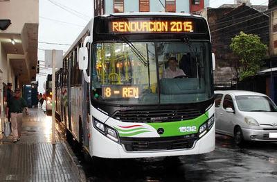 Municipalidad de Asunción establece horario de circulación de buses