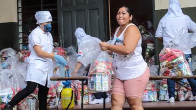 Mec: hoy se realiza la entrega de kits alimenticios